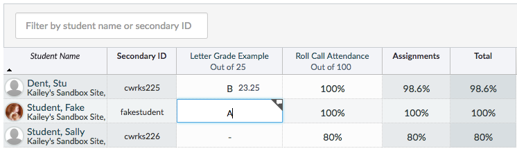 Grade Number To Letter.How Can I Give Students A Letter Grade Without A Numerical